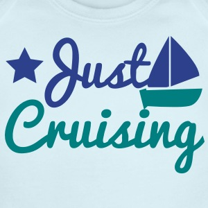 just cruising star and sailboat Baby Bodysuits - Short Sleeve Baby Bodysuit