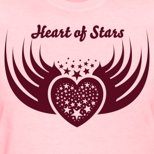 Heart of Stars 3 Women's T-Shirts - Women's T-Shirt