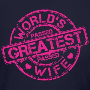 World's Greatest Wife - Women's Long Sleeve Jersey T-Shirt