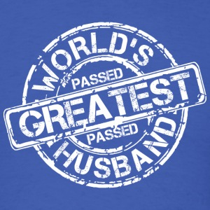 World's Greatest Husband - Men's T-Shirt