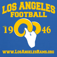 Design ~ Los Angeles Football Children's Sweatshirt (Royal Blue)