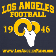 Design ~ Los Angeles Football Children's Sweatshirt (Navy Blue)