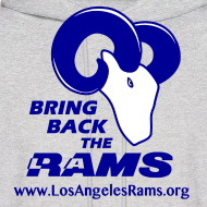 Design ~ Bring Back the LA Rams Sweatshirt (Grey)