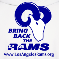Design ~ Bring Back the LA Rams Sweatshirt (White)