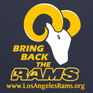 Design ~ Bring Back the LA Rams Children's Sweatshirt (Navy Blue)