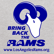 Design ~ Bring Back the LA Rams Children's Sweatshirt (Grey)