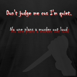Murderer Tee - Men's T-Shirt by American Apparel