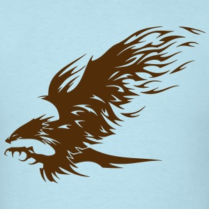 Attacking Hawk - Men's T-Shirt