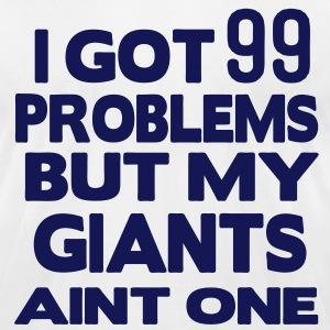 I GOT 99 PROBLEMS BUT MY GAME AINT ONE T-Shirts - Men's T-Shirt by American Apparel