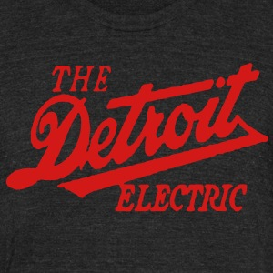 Detroit Electric T-Shirts - Unisex Tri-Blend T-Shirt by American Apparel