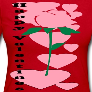 valentine_rose3 Long Sleeve Shirts - Women's Long Sleeve Jersey T-Shirt