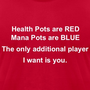 Health Mana Pots Valentines Special T-Shirts - Men's T-Shirt by American Apparel