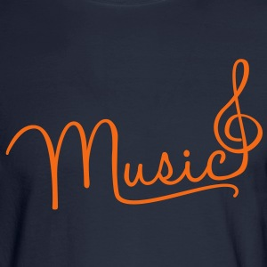 music  Long Sleeve Shirts - Men's Long Sleeve T-Shirt