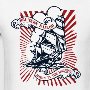 drunken sailor T-Shirts - Men's T-Shirt