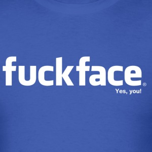 Fuckface (White) - Men's - Men's T-Shirt