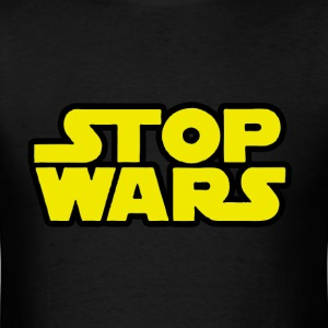 Stop Wars (Star Wars)  T-Shirts - Men's T-Shirt
