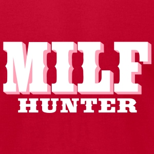 Milf Hunter T-Shirts - Men's T-Shirt by American Apparel