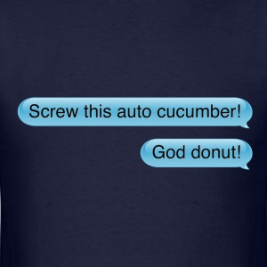 auto-cucumber - Men's T-Shirt