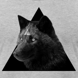 Wolves Inside - Men's T-Shirt by American Apparel