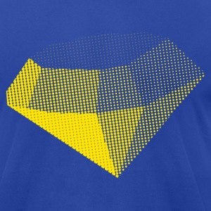 Diamond - Men's T-Shirt by American Apparel
