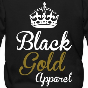 Black Gold Apparel Crown Logo Zip Hoodies/Jackets - Men's Zip Hoodie