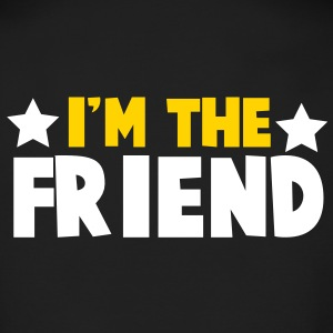 new i'm the friend family label design Long Sleeve Shirts - Men's Long Sleeve T-Shirt by Next Level