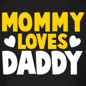 MOMMY LOVES DADDY parents shirt Long Sleeve Shirts - Men's Long Sleeve T-Shirt by Next Level