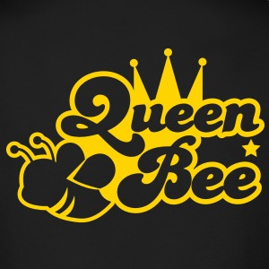 Queen bee ornate with cute little insect and a princess crown Long Sleeve Shirts - Men's Long Sleeve T-Shirt by Next Level