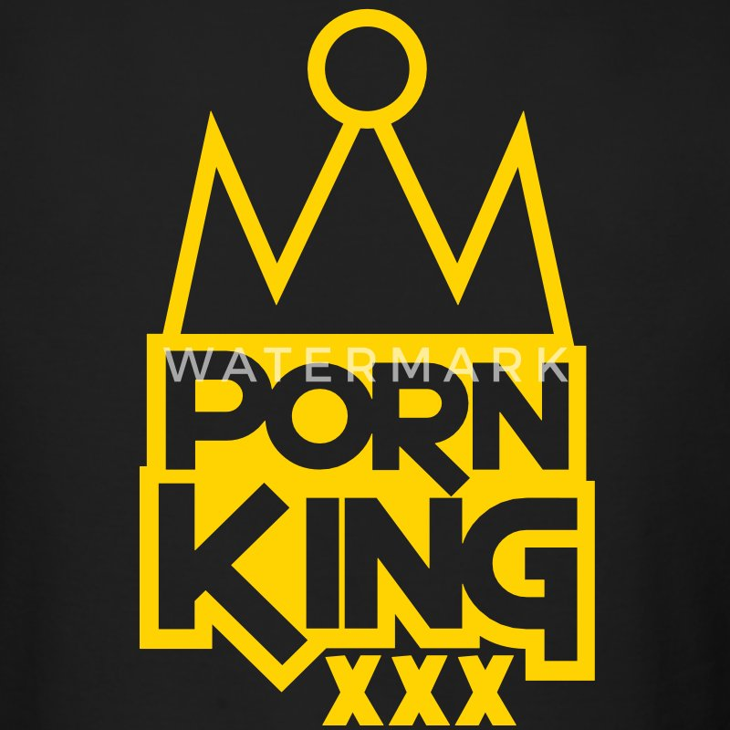 PORN KING BLING XXX Long Sleeve Shirts - Men's Long Sleeve T-Shirt by Next Level