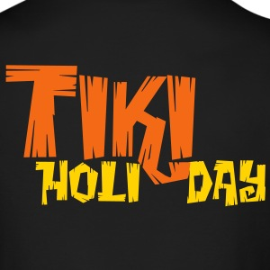 TIKI HOLIDAY Long Sleeve Shirts - Men's Long Sleeve T-Shirt by Next Level