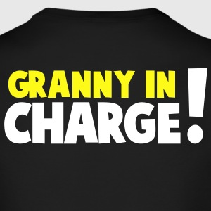 GRANNY IN CHARGE! Long Sleeve Shirts - Men's Long Sleeve T-Shirt by Next Level