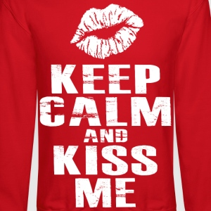 Keep Calm and Kiss Me - Crewneck Sweatshirt