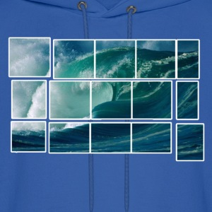 Big Wave Artwork Hoodies - Men's Hoodie