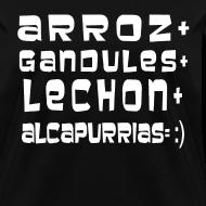 Design ~ ARROZ+ GANDULES+ LECHON+ ALCAPURRIAS= :) MUJER
