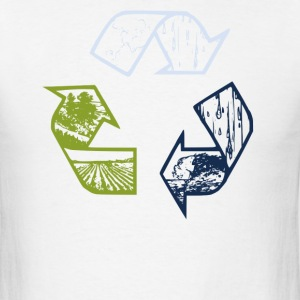 Organic Recycle Tee - Men's T-Shirt