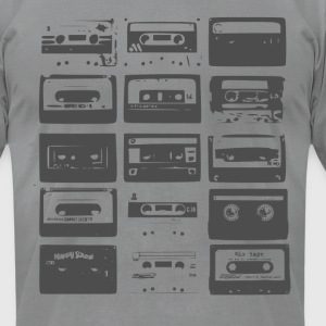 Tape Cassette tee - Men's T-Shirt by American Apparel