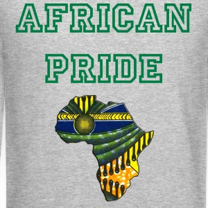 Africa Logo Kaftan Colorway Long Sleeve Shirts - Crewneck Sweatshirt