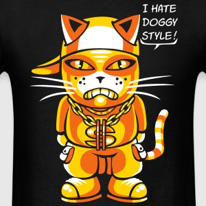 Cat hate doggy style flex T-Shirts - Men's T-Shirt