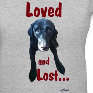 Lady's V - Loved and Lost - Women's V-Neck T-Shirt