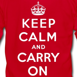 Keep Calm And Carry On Zip Hoodies/Jackets - stayflyclothing.com  - Unisex Fleece Zip Hoodie by American Apparel