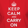 Keep Calm And Carry On Hoodies - stayflyclothing.com  - Women's Hoodie