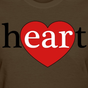 Listen with Your Heart - Women's T-Shirt