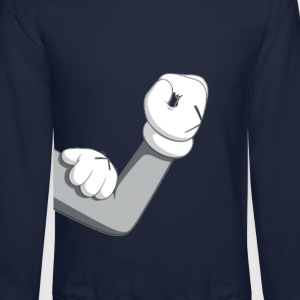 Dope Mickey Flexing Crewneck - Crewneck Sweatshirt