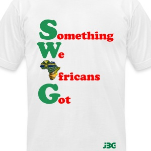 greenred SWAG logo T-Shirts - Men's T-Shirt by American Apparel