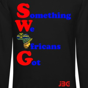 bluered SWAG logo Long Sleeve Shirts - Crewneck Sweatshirt