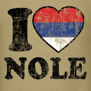 I Love Nole T-Shirts - Men's T-Shirt