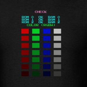 ROM check - Men's T-Shirt