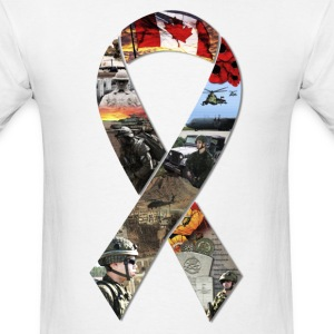 Military Ribbon (Large) - Men's - Men's T-Shirt