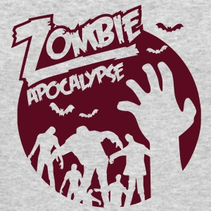 Zombie Apocalypse Long Sleeve Shirts - Men's Long Sleeve T-Shirt by Next Level