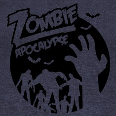 Zombie Apocalypse Long Sleeve Shirts